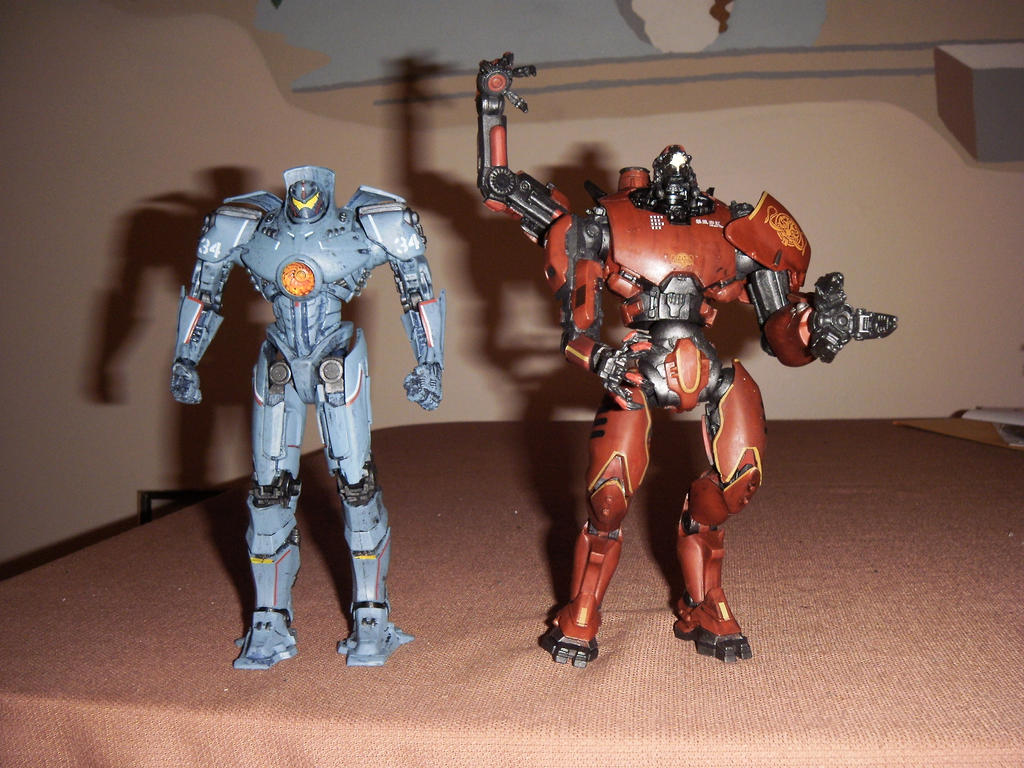 Gipsy Danger and Crimson Typhoon by BrigadierDarman on ...