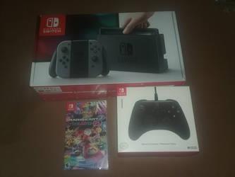 I Got my Switch by BrigadierDarman