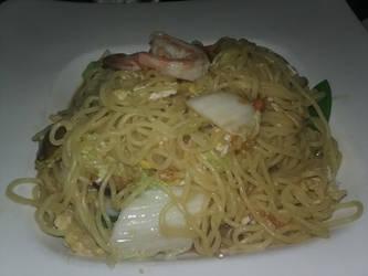 Shrimp Soba by BrigadierDarman