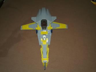 Naboo-Aquilean Starfighter by BrigadierDarman