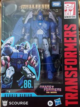 Transformers Studio Series Scourge