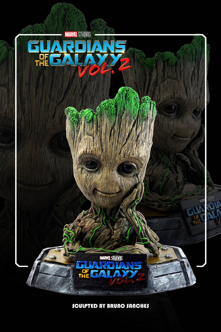 Sculture Baby Groot by Brunoultimate