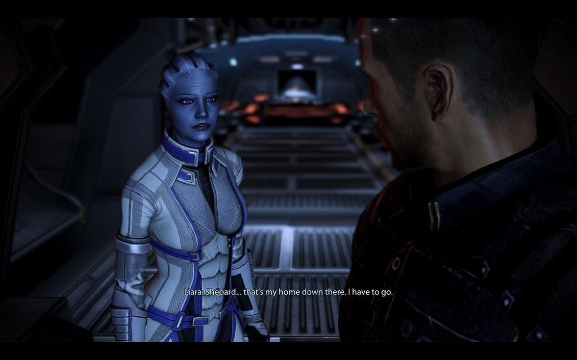 ME3 Thessia - Alan Shepard and Liara by chicksaw2002Mass Effect 3 Liara And Shepard