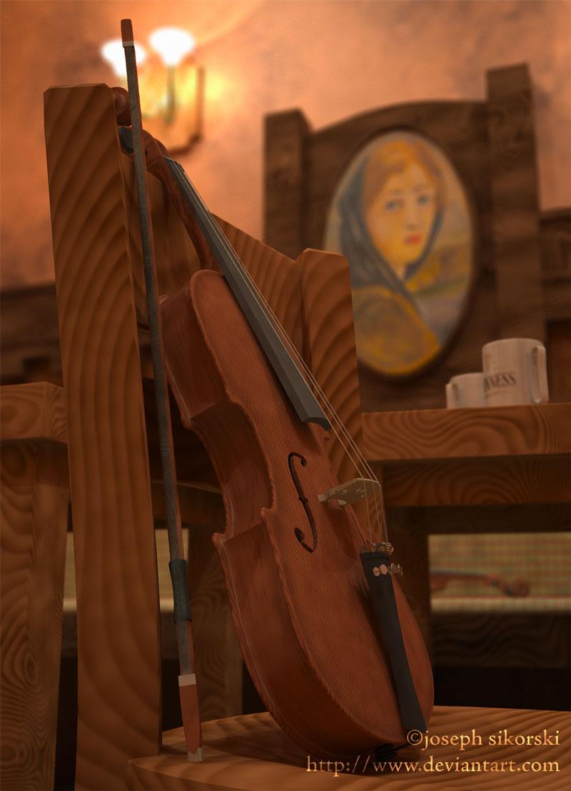 Pub Fiddle by Atalhlla