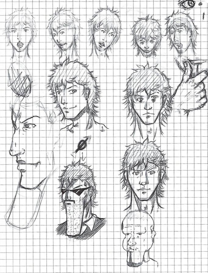 Face Sketch by Ruijin54