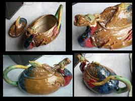 Dragon Teapot Multi-View by OllyChimera
