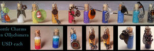 Potion Bottle Charms **FOR SALE**