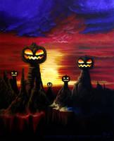 Pumpkin Hill Painting (Fanart)