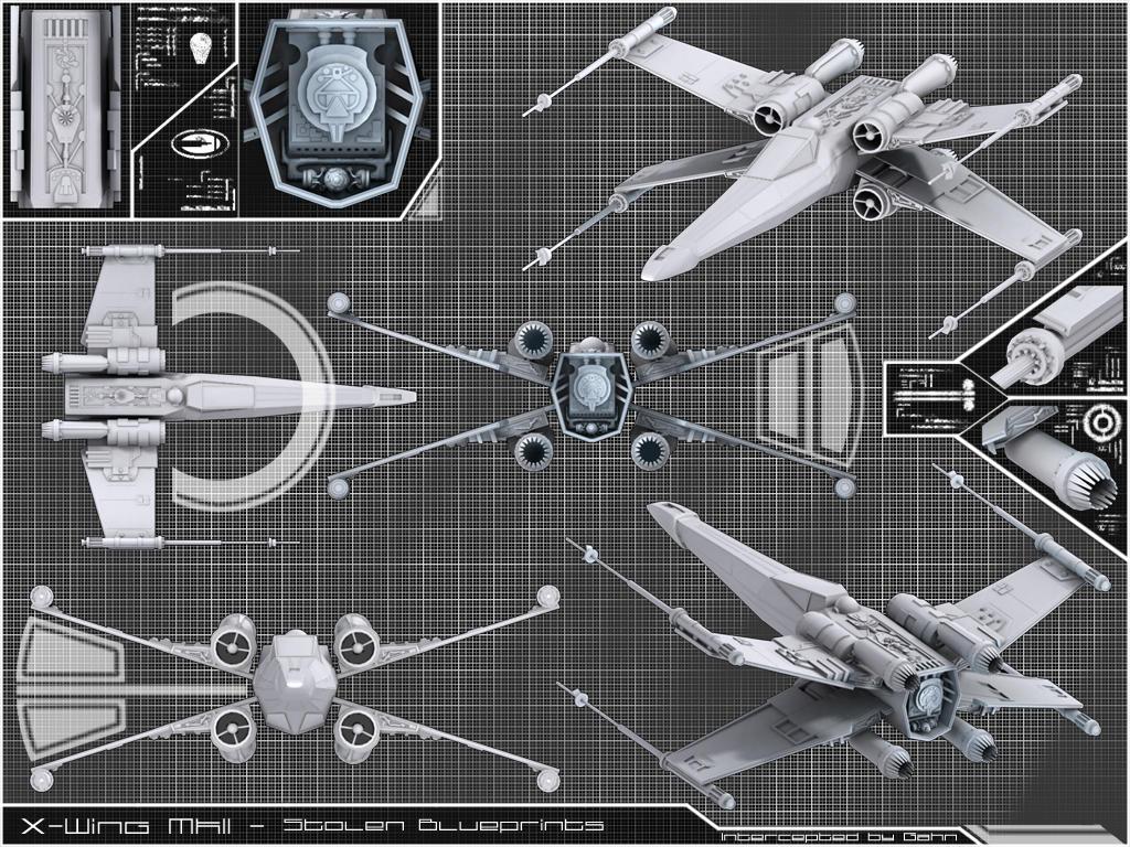 X wing mkii stolen blueprint by gahn on deviantart x wing mkii stolen blueprint by gahn malvernweather Gallery