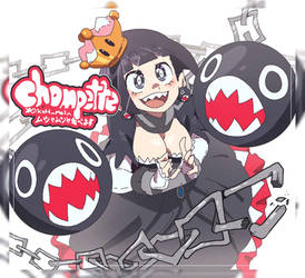 Chompette! by twinkietoaster