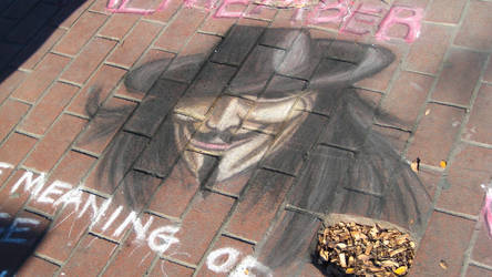 Chalk Art Nov '08 by disscordia