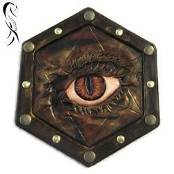 Badge - Evil Eye