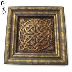 framed celtic knot 01 by disscordia