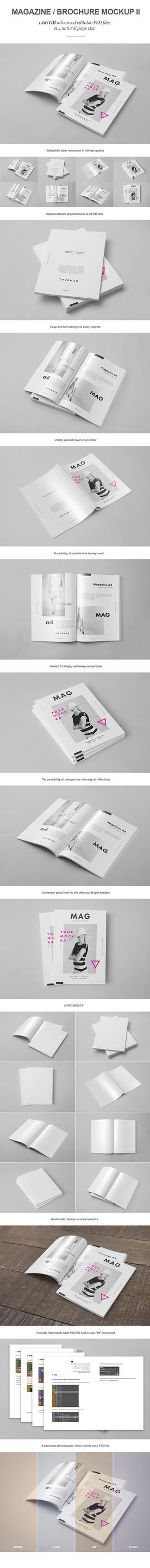 Magazine / Brochure Mock-up II by yogurt86