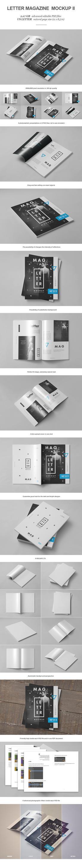 Letter Magazine / Brochure Mock-up II by yogurt86