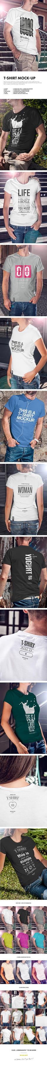 T-Shirt Mock-up by yogurt86
