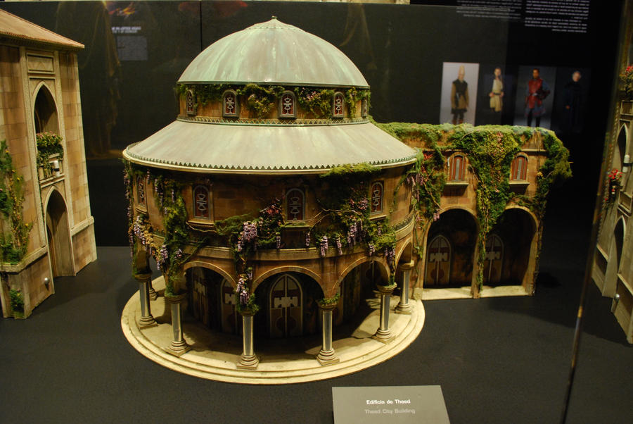 Theed city building miniature by derakmine on deviantart for Miniature architecture