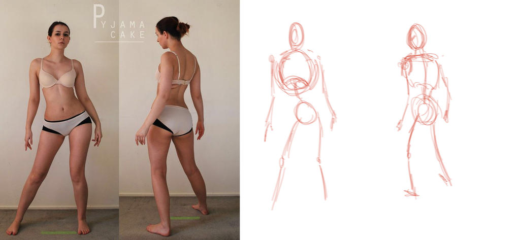 Gesture drawing 1 by djackwagner