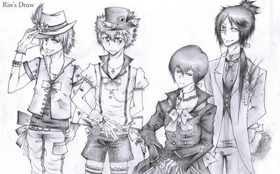 VONGOLA FAMILY by Labyrinth27