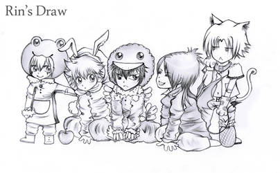 Q-VONGOLA FAMILY by Labyrinth27