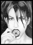 'Spider' Gina Gershon by chakkers