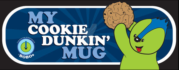 Cookie Dunkin BoBo on Black by chakkers