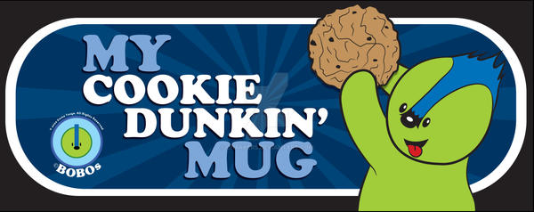Cookie Dunkin BoBo on Black