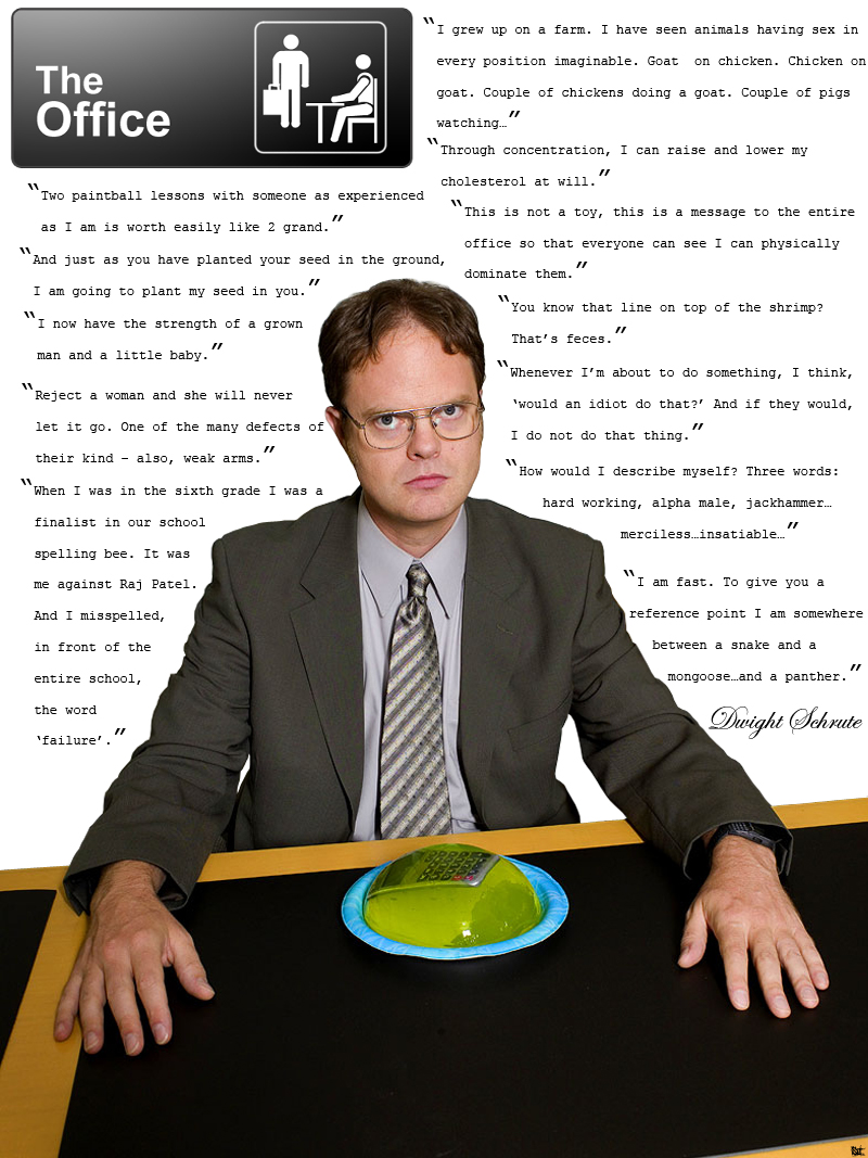 Dwight Schrute Beet Quotes QuotesGram