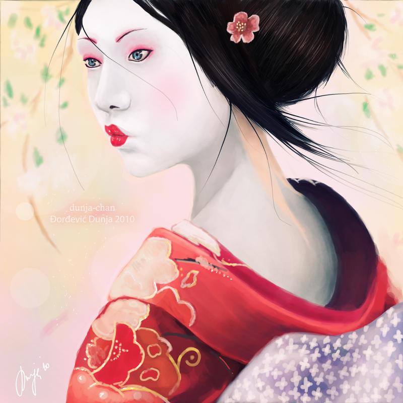 Japanese doll by dunjochka