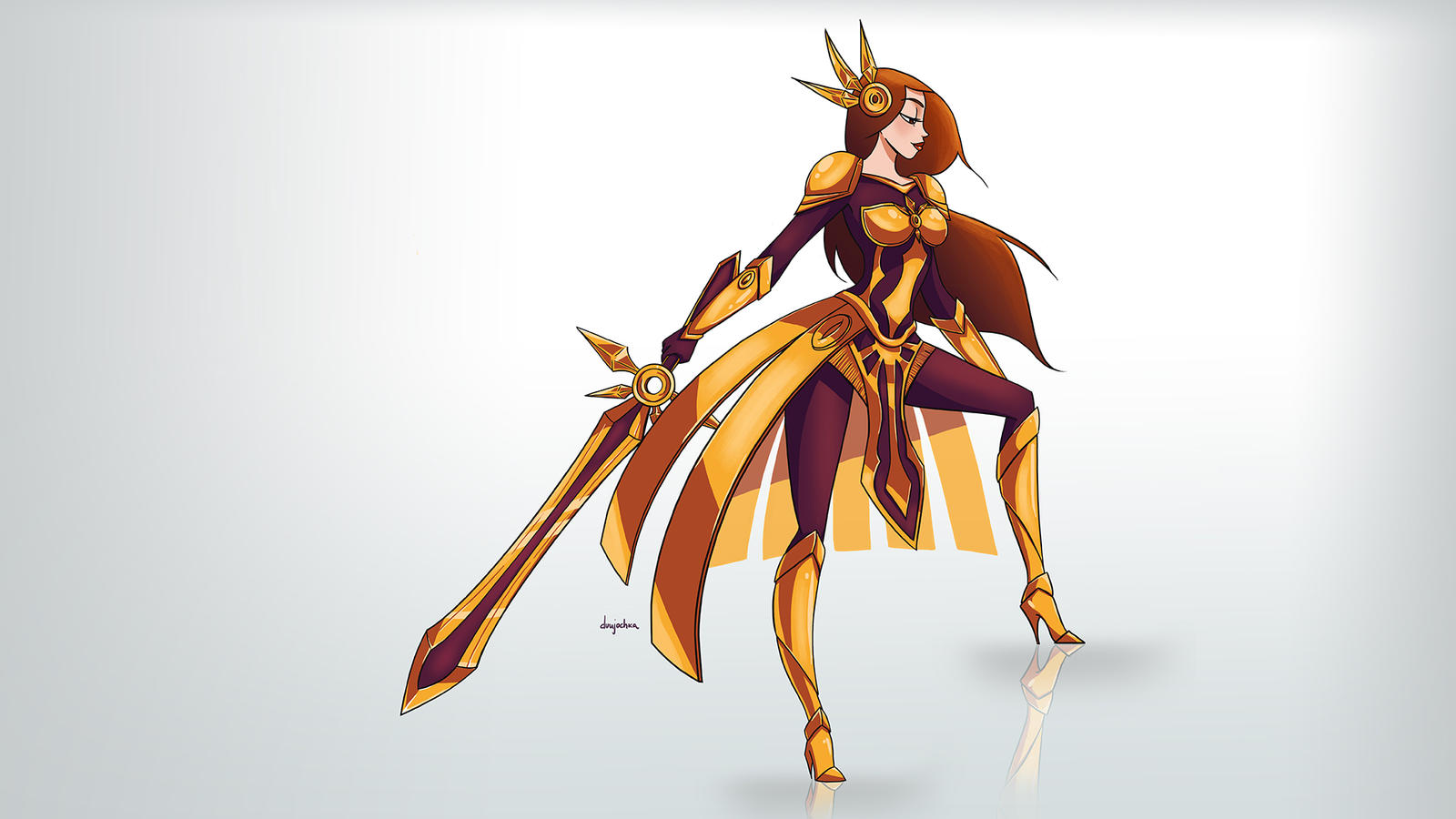 leona wallpaper fan art - photo #16