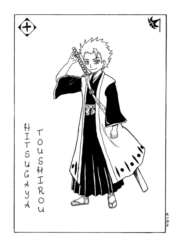 Bleach -- Hitsugaya by spryte-21