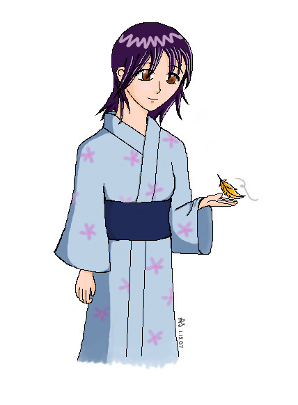 Yukata Girl by spryte-21