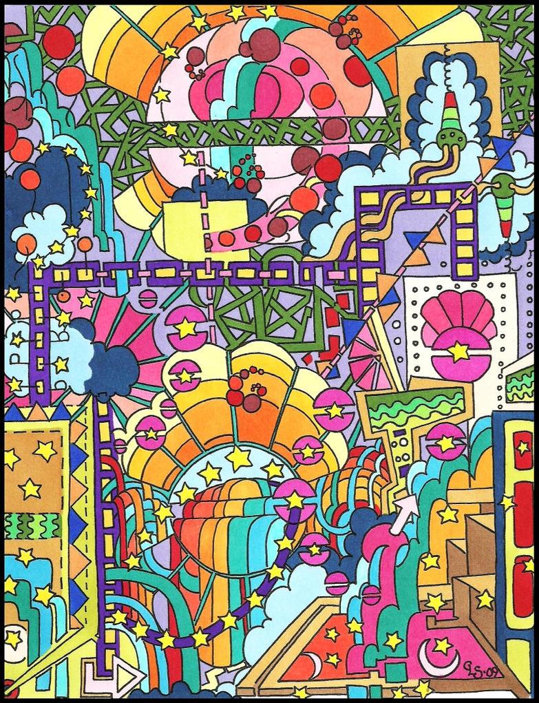 Pinball coloured by naga-pree