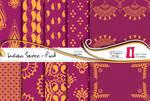 Indian Saree Paper Pack - Pink