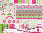 Peppermint Clipart Pack