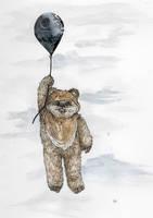 Balloon Ewok by Blvdnit3