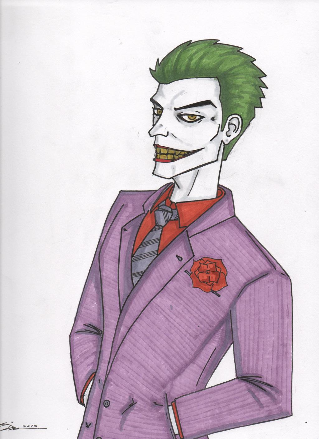 The Joker by Wicked-Texan