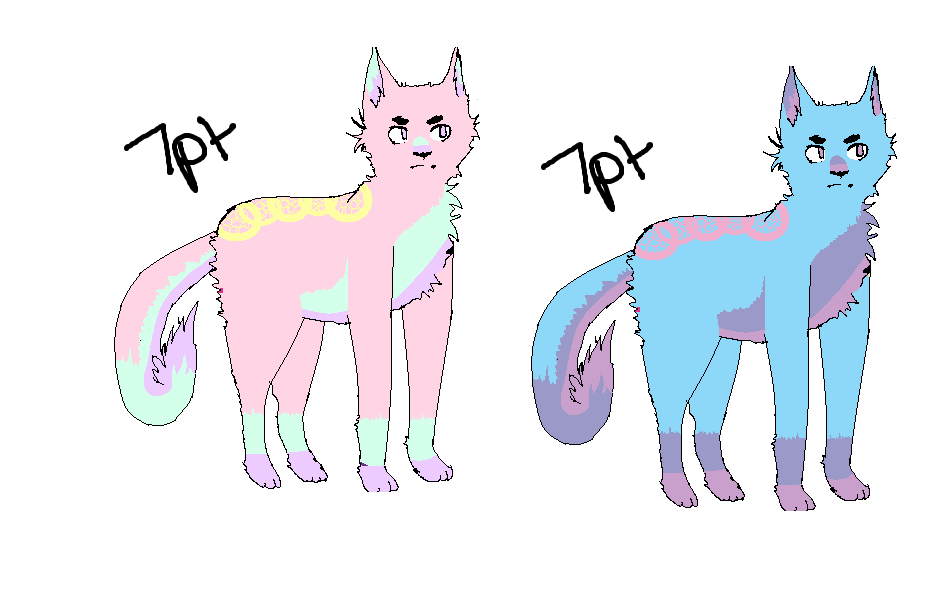 cat adoptables by fuchsiapeixes