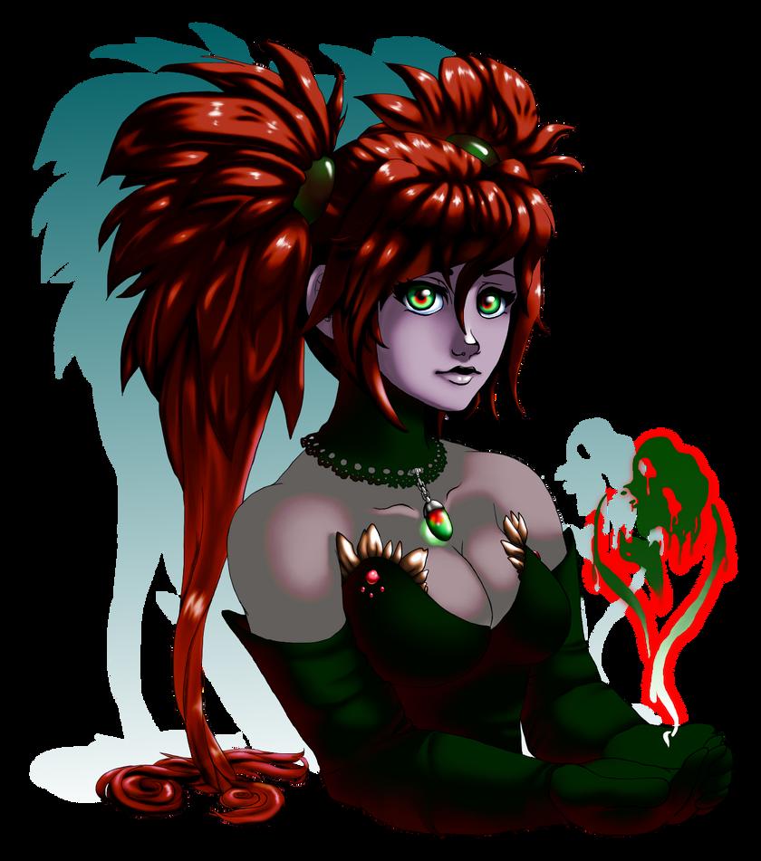 Sable the Necromancer by Bozphin