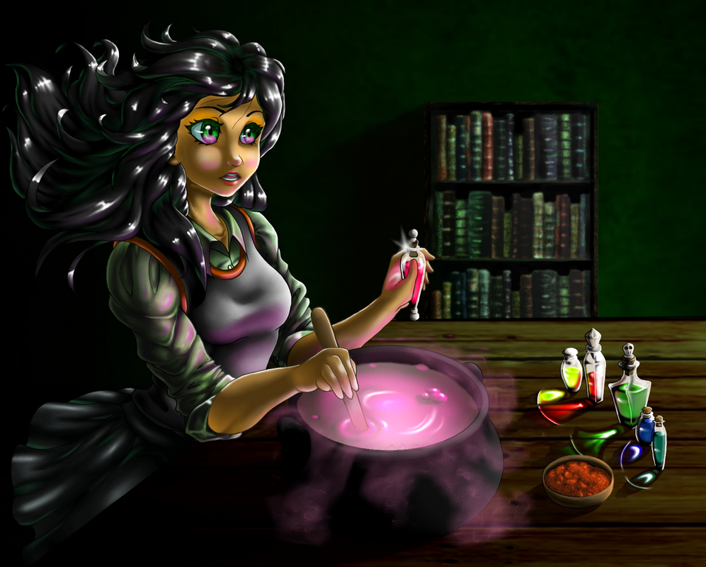 Rose Potions Redo by Bozphin