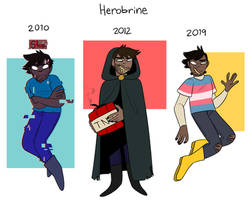 Herobrine Through The Years