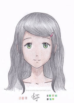 [Old Drawing]Original Character Sketch Test 03