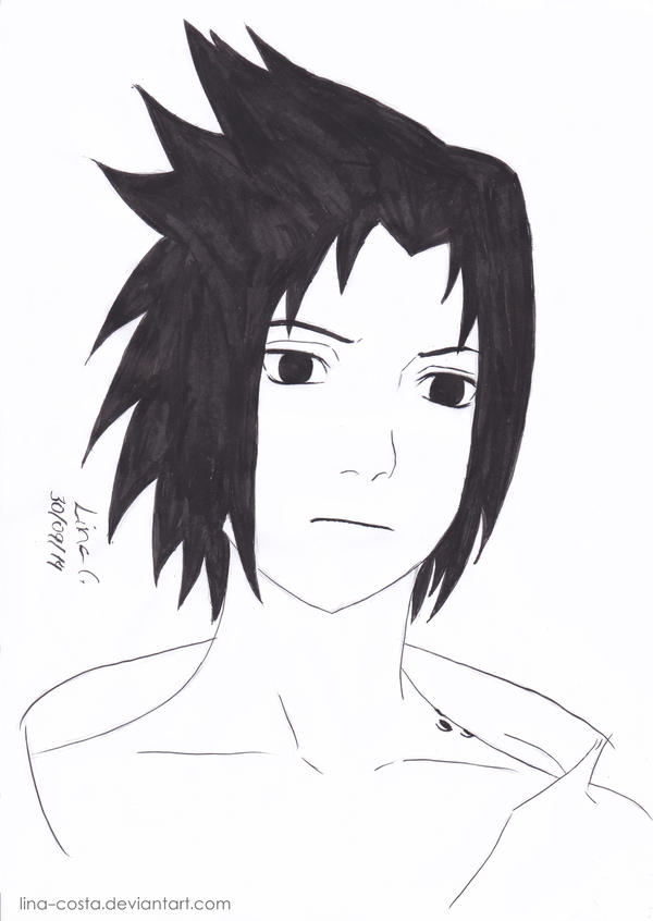 Fan Art - Uchiha Sasuke by lina-costa