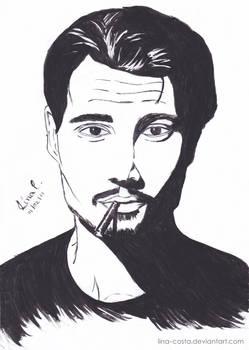 Fan Art - Johnny Depp