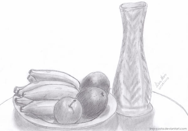 [old Drawing] Still Life by lina-costa