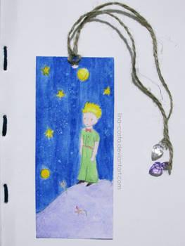 Le Petit Prince Handmade Bookmark