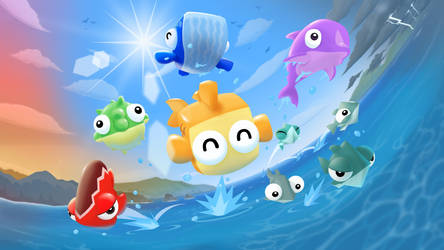 Fish Out of Water Splash! by resa12354