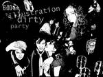 Illustration dirty party