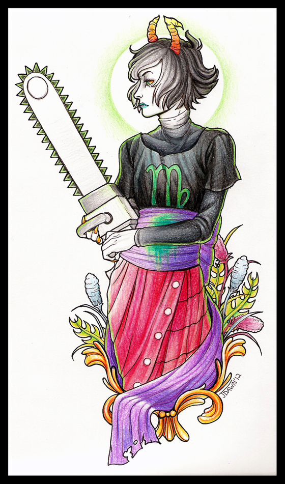 Kanaya tattoo design by Zillywhoooore