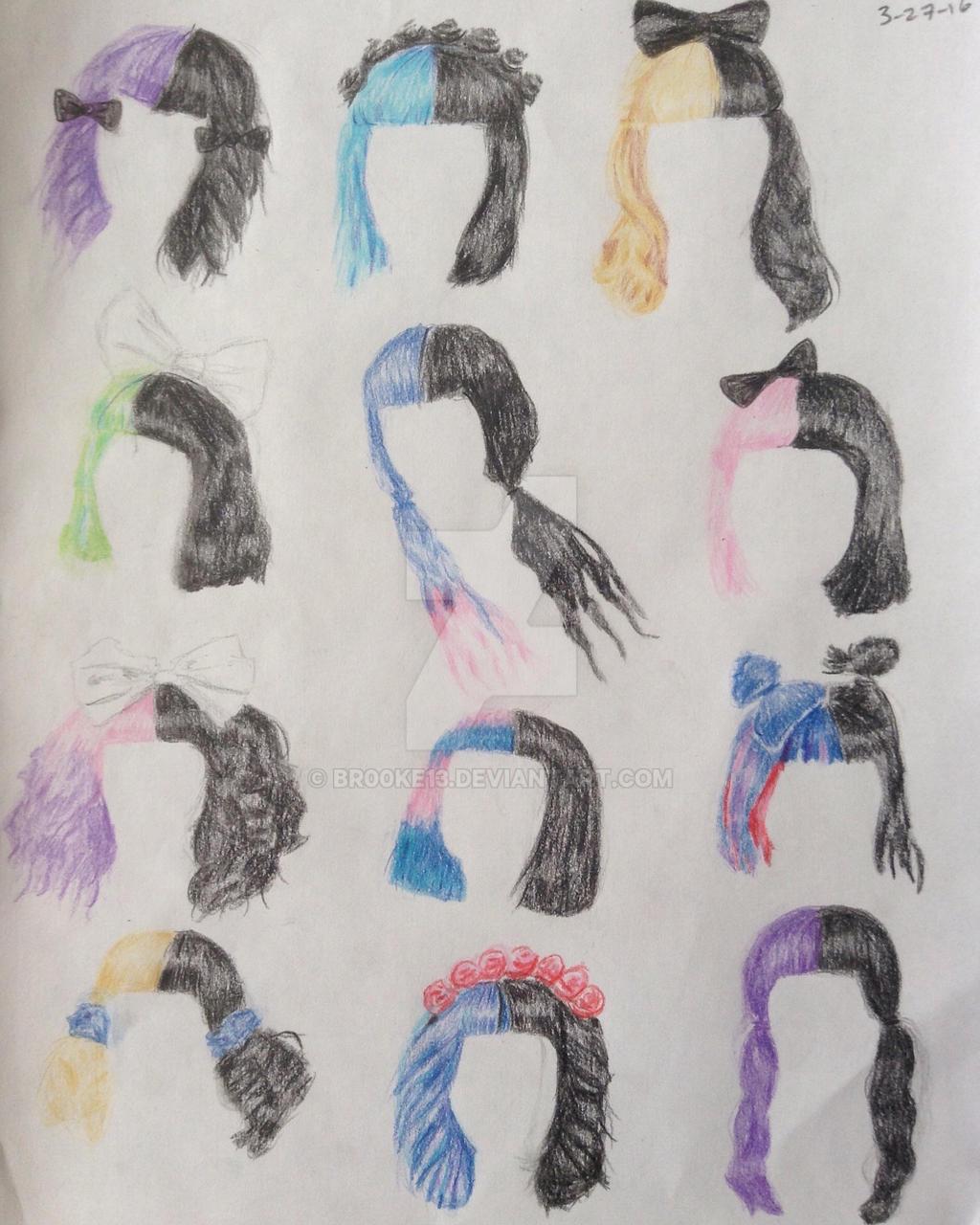 Melanie Martinez Hairstyles By Br00ke13 On Deviantart